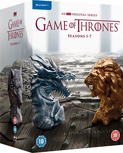 Game of Thrones - Season 1-7 [Blu-ray] [2017] [Region Free] (Game Of Thrones Box Set 1 7)