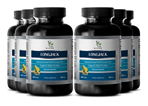 Testosterone booster weight loss - LONGJACK NATURAL TESTOBOOSTER - Tongkat ali blend - 6 Bottle 360 Capsules by PL NUTRITION