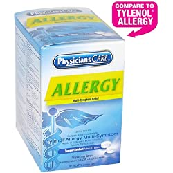 Physicianscare Multi-Symptom Allergy Relief Tablets, 50 Count