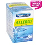 PhysiciansCare by First Aid Only Multi-Symptom Allergy Relief Tablets, 50 Count