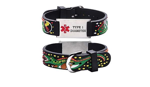 pulsera roja para la diabetes