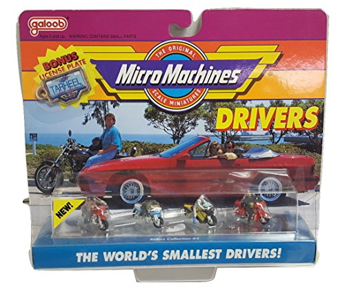 Micro Machines Riders #3 Motorcycle Collection (Cycle Seca)