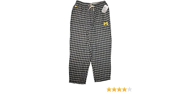 Russell Athletic University of Michigan Wolverines Drawstring Pajama New Lounge Pants