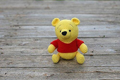 Amazoncom Crochet Winnie The Pooh Amigurumi Stuffed Plush Toy