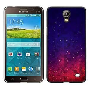 LECELL--Funda protectora / Cubierta / Piel For Samsung Galaxy Mega 2 -- Espacio Nebulosa Cosmos Estrellas Cielo --