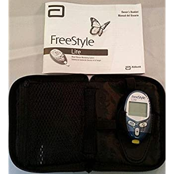 Amazon Com Freestyle Lite Blood Glucose Meter Only