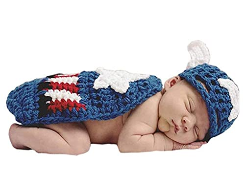 Baby in captain america hat and blanket