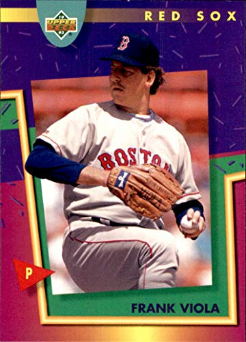 1993 Fun Pack Upper Deck #166 Frank Viola BOSTON RED SOX Boston Red Sox Frank