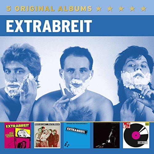 Extrabreit: 5 Original Albums (Audio CD)