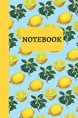 Notebook: Lemon Notebook / Journal Lined Pages by T.R Popster