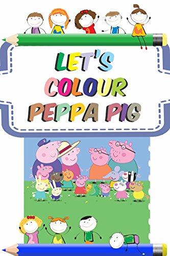 Let's colour Peppa Pig