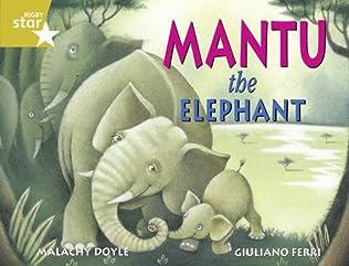book cover of Mantu the Elephant
