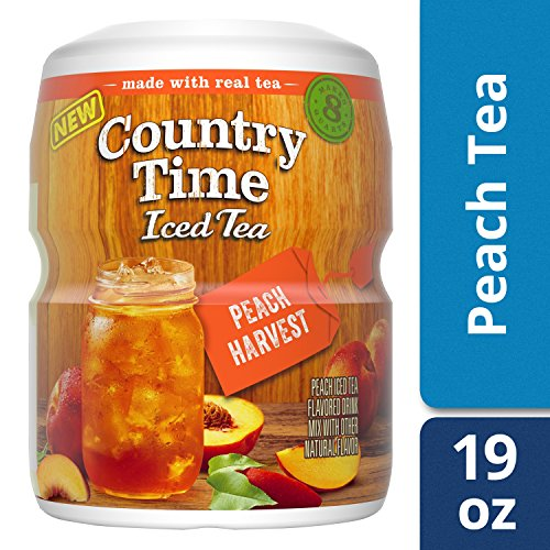 Country Time Peach Harvest Tea, 19 oz - Harvest Peach