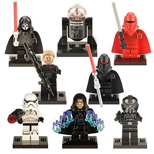 8pcs/lot-Clone-Shadow-Troopers-Star-Wars-7-Minifigures-Building-Blocks-Toys