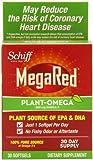 MegaRed Plant-Omega Omega-3, 300 mg, 30 Count, Health Care Stuffs