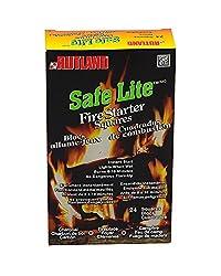 Rutland Products Safe Lite Fire Starter Squares, 24 Squares