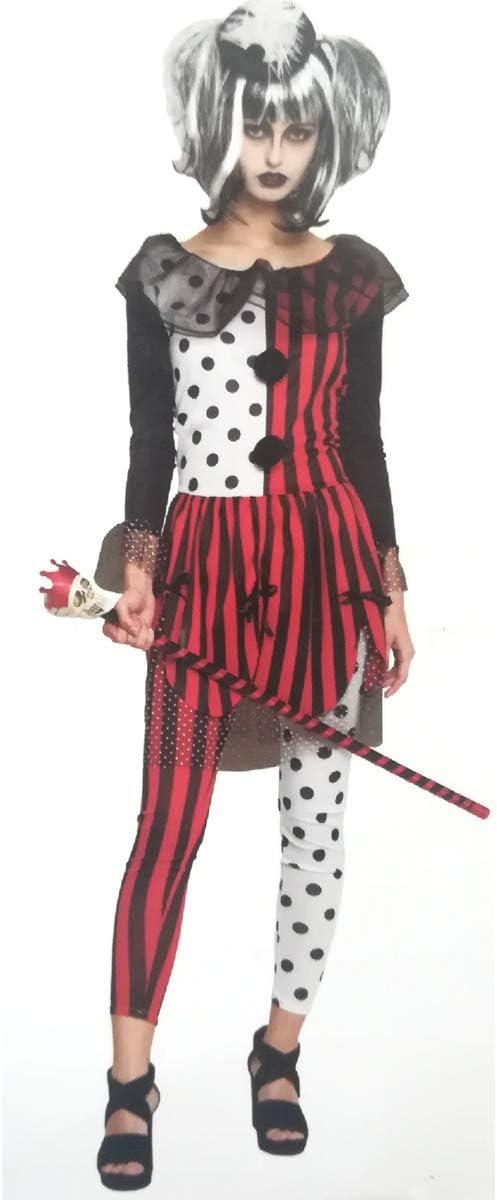 Cisne 2013, S.L. Disfraz para Halloween de Mujer de Arlequín Color ...