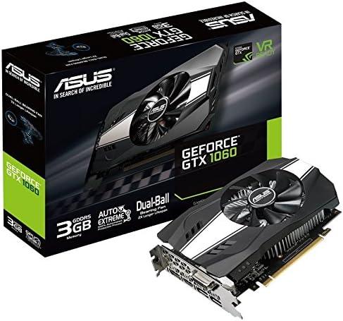 ASUS PH-GTX1060-3G GDDR5 - Tarjeta gráfica (NVIDIA, GeForce GTX ...