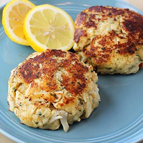 Cameron's Seafood 8 oz. Maryland Jumbo Lump Crab Cakes (12)