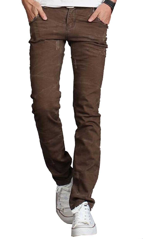 MLG Mens Fashion Designer jeans Casual Denim Pant Trousers
