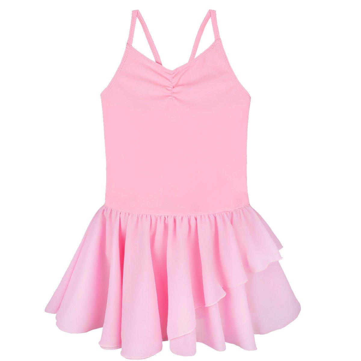 9d6583dba7f0e iEFiEL Fille Princesse Robe De Ballet Dentelle Justaucorps ...