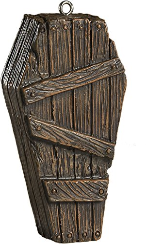 Old Coffin Ornament - Scary Prop and Decoration for Halloween, Christmas, Parties and Events - By HorrorNaments for $<!--$13.99-->