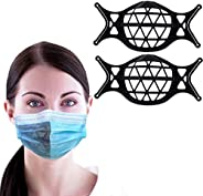3D Silicone Face Mask Bracket-3D Mask Bracket Inner Support Frame for More Breathing Space,Keep Fabric Off Mou