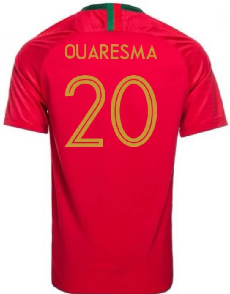 2018-2019 Portugal Home Nike Football Soccer T-Shirt Camiseta (Ricardo Quaresma 20): Amazon.es: Deportes y aire libre