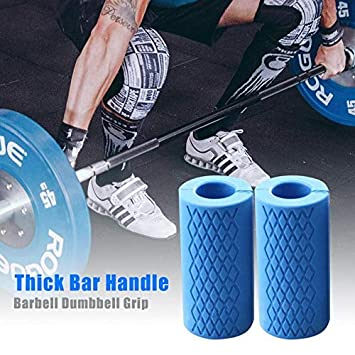 Amazon.com: MOJITO LIVING 1 Pair Barbell Dumbbell Grips ...