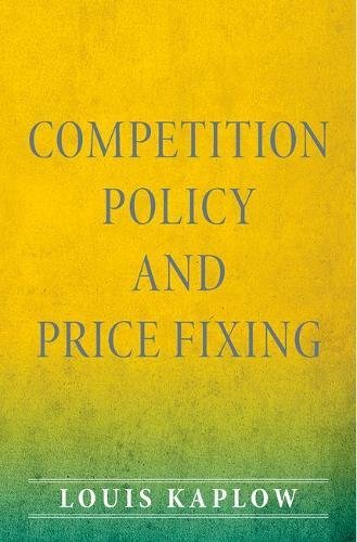 Competition Policy and Price Fixing (Global Price Fixing)