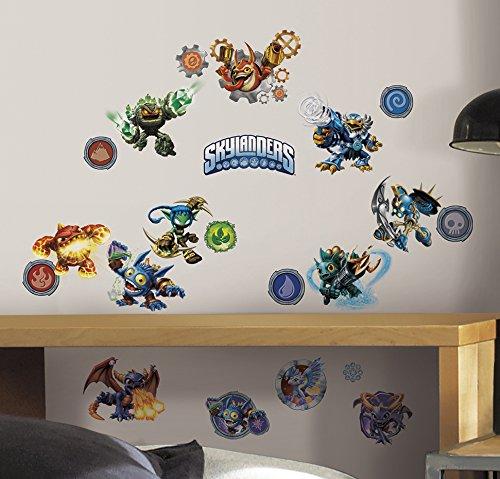 Room Mates Popular Characters Skylanders Classic Wall Decal RMK2666SCS
