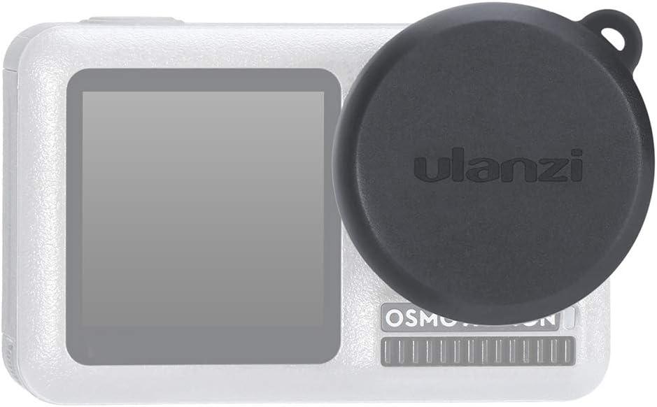 Festnight Ulanzi OA-2 Capuchon Objectif Couvre Silicone Souple Capuchon Objectif pour DJI OSMO Action Cam/éra Sport Cam/éra Accessoire