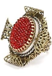 Sweet Romance Elizabethan Ruby Ring