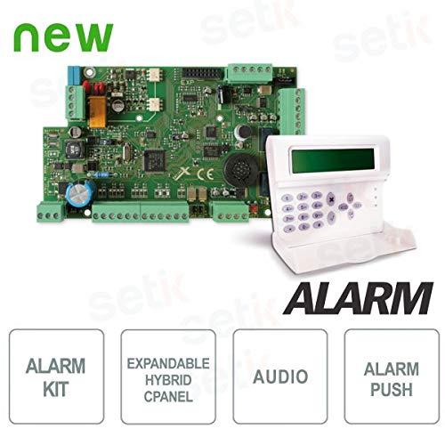 AMC - Kit Central Alarma 8 entradas expandible 32 + Teclado ...