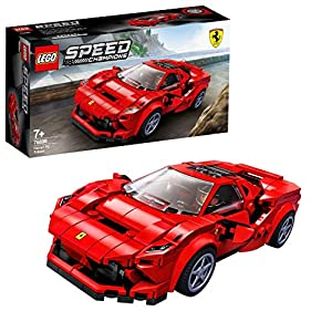 LEGO Speed Champions Ferrari F8 Tributo per Giocare, Costruire e Collezionare lo Storico Modello della Ferrari, Set di Costruzioni per Bambini, Collezionisti e Amanti dei Motori, 76895  LEGO
