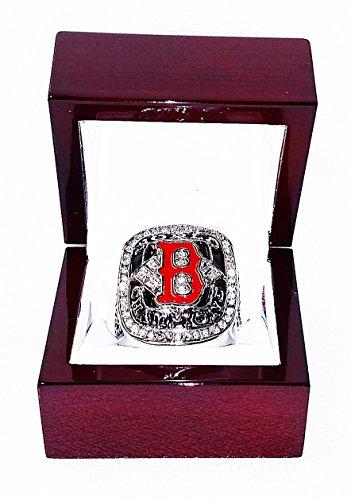 Boston Red Sox (David Ortiz) 2004 MLB WORLD SERIES CHAMPIONS (Greatest Comeback in History) Rare & Collectible High-Quality Replica Baseball Championship - Series Red Rings Sox Boston World