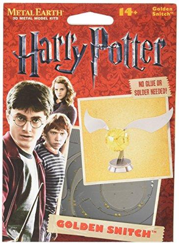 Fascinations Metal Earth Harry Potter Golden Snitch 3D Metal Model Kit (Harry Potter Snitch)
