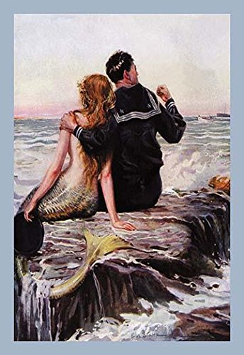 - Sailor with his arm around a mermaid ?Join the Navy? art by Paul Stahr Cover art from the Life magazine July 7 1921 issue This version was renamed Sailor and Mermaid and seems to show a US Navy sail