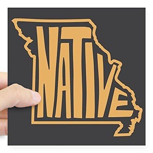 CafePress - Missouri Native Square Sticker 3