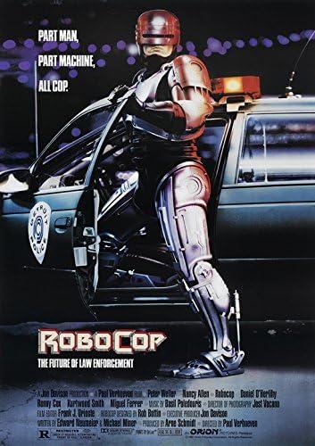 RoboCop Movie Poster Canvas Art Print 50cmx76cm