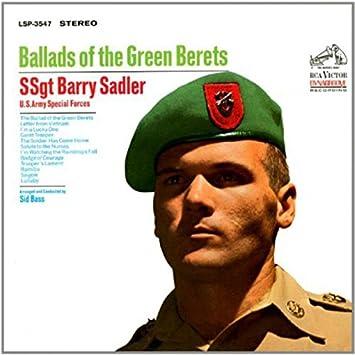 b32e0f2eaf722 SSgt. Barry Sadler - Ballads of the Green Berets - Amazon.com Music