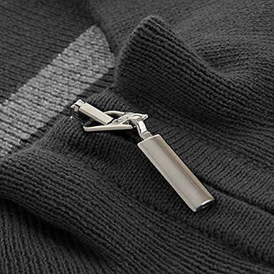 Calvin Klein Golf Men's V Neck Sleeveless Sweater Vest - US L - Charcoal