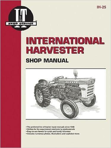 International Harvester Shop Manual Series 460 560 606 660 /& 2606