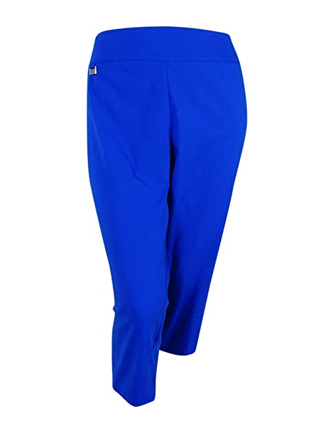 6f3c31ece60 Image Unavailable. Image not available for. Color  Alfani Womens Plus  Stretch Tummy Control Capri Pants ...
