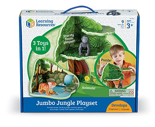 Learning Zoo (Learning Resources Jumbo Jungle Playset)