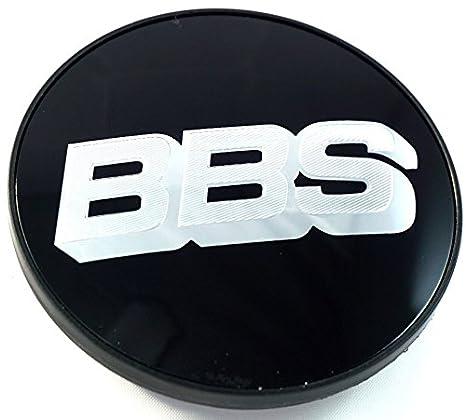 1 x BBS Llanta Tapa Símbolo Scheibe Emblema Negro Plata 56 mm bb0924257 nuevo sin anillo de retención): Amazon.es: Coche y moto