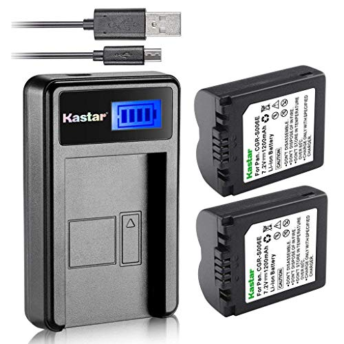 Panasonic Camera Battery Cgr S006A - 5