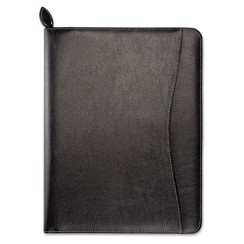 Day-Timer 85457 Basque Bonded Leather Organizer, 8 1/2 x 11 Eco Conscious Leather Folio