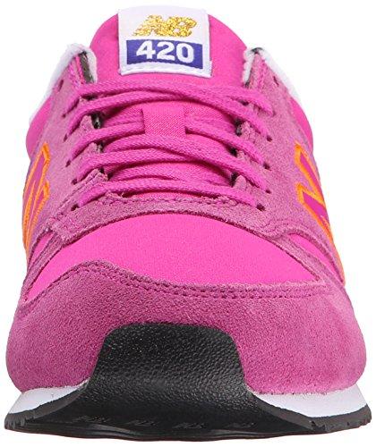 New Balance Femmes Wl420 Gras Brights Chaussure De Course Azalée / Lanzarote / Abricot