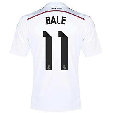 hot sale online 4c32f 00fed adidas Bale #11 Real Madrid Home Jersey 2014/15